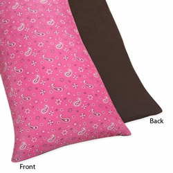 Cowgirl Bandana Body Pillow Case