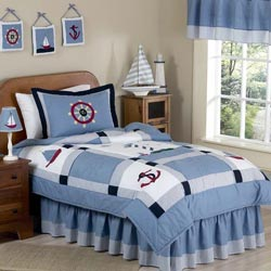 Come Sail Away Twin Bedding Set