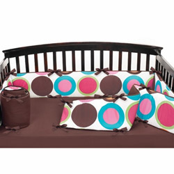 Deco Dot Crib Bumper