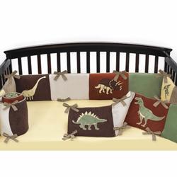Dinosaur Land Crib Bumper