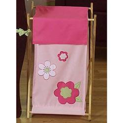 Flower Laundry Hamper