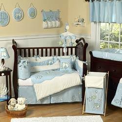 Go Fish Crib Bedding Set