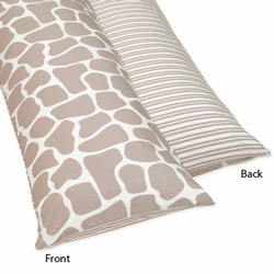 Giraffe Body Pillow Case