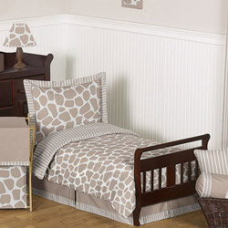 Giraffe Toddler Bedding Set