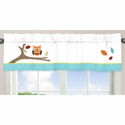 Hooty Window Valance
