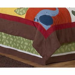 Jungle Time Full Bed Skirt