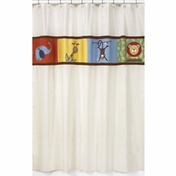 Jungle Time Shower Curtain