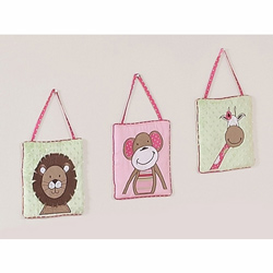 Jungle Friends Wall Hangings