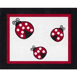 Little Ladybug Accent Rug