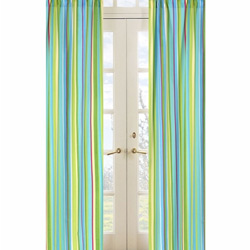 Layla Striped Window Panels