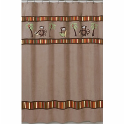 Monkey Shower Curtain