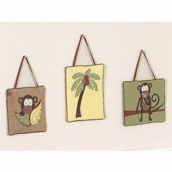 Monkey Wall Hanging