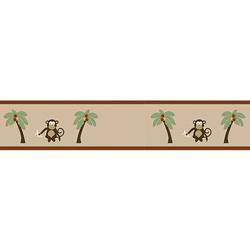 Monkey Wallpaper Border