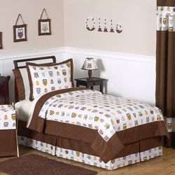 Night Owl Twin/Full Bedding