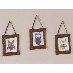 Night Owl Wall Hangings