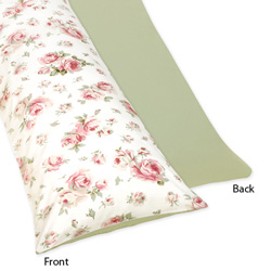 Riley's Roses Body Pillow Case