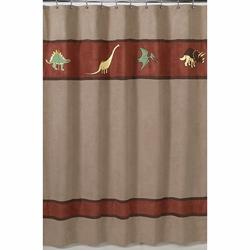 Dinosaur Land Shower Curtain