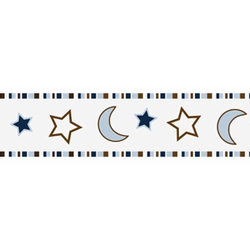 Starry Night Wallpaper Border