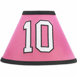 Soccer Pink Lampshade