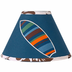 Surf Blue Lampshade