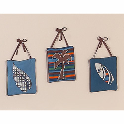 Surf Blue Wall Hanging