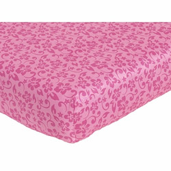 Surf Pink Crib/Toddler Sheet