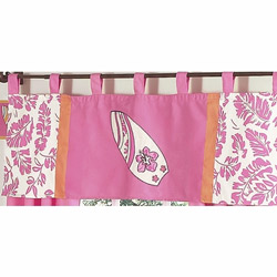 Surf Pink Window Valance