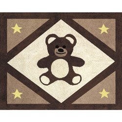 Teddy Bear Accent Rug