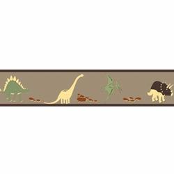 Dinosaur Land Wallpaper Border