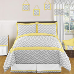 Zig Zag Twin/Full Bedding Set