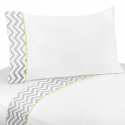 Zig Zag Twin/Full Sheet Set