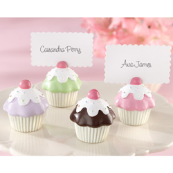 Kate Aspen Sweet Surprise Cupcake Place Card/Photo Holder (Set of 4)