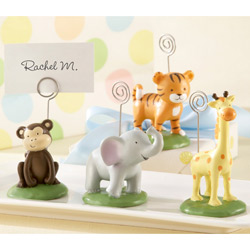 Kate Aspen Born To Be Wild Animal Place Card/Photo Holders