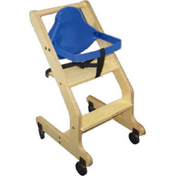 Bistro Wooden High Chair