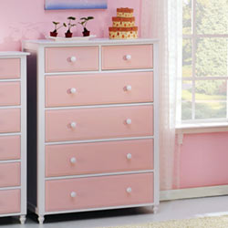 Megan Two Over Four Drawer Dresser