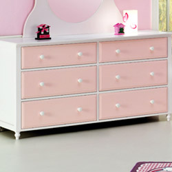Megan 6 Drawer Dresser