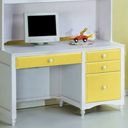 Megan Three Drawer Desk