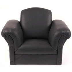 Faux Leather Kids' Chair