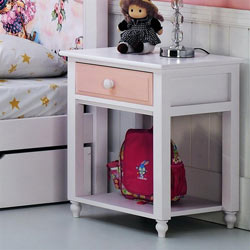 Megan Single Drawer Nightstand