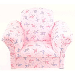Ballet Slippers Upholstered Kids Chairs