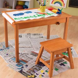 Art Table and Stool