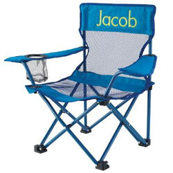 Personalized Camping Chair-Blue