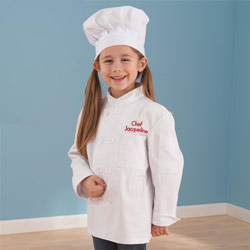 Personalized Chef Jacket and Hat
