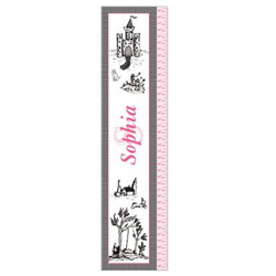 Personalized Toile Growth Chart