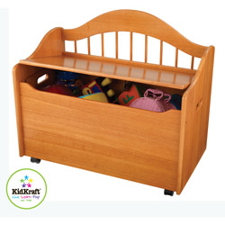 KidKraft Personalized Limited Edition Honey Toy Box