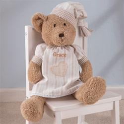 Personalized Naptime Bear-Girl