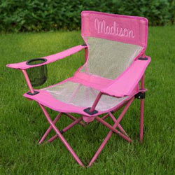 Personalized Camping Chair-Pink
