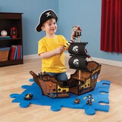 KidKraft Pirate Ship Playset
