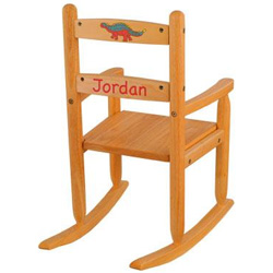 KidKraft Honey Personalized Slat Rocking Chair