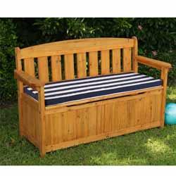 KidKraft Outdoor Storage Bench with Cushion